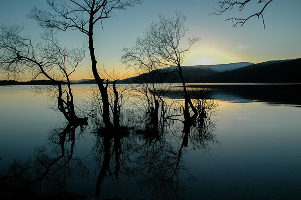 Reflections on Loch Lomond