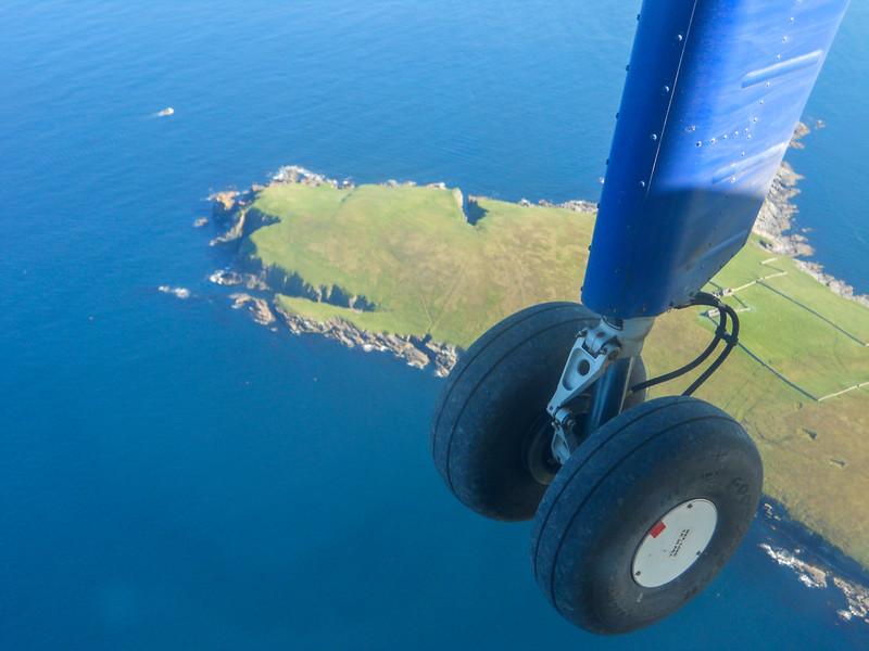 Leaving Fair Isle