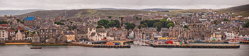 Lerwick Harbor Panorama