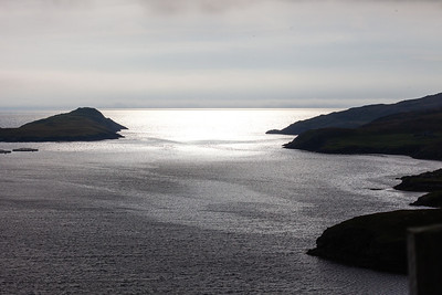 Looking west from North Mavine, Shetland