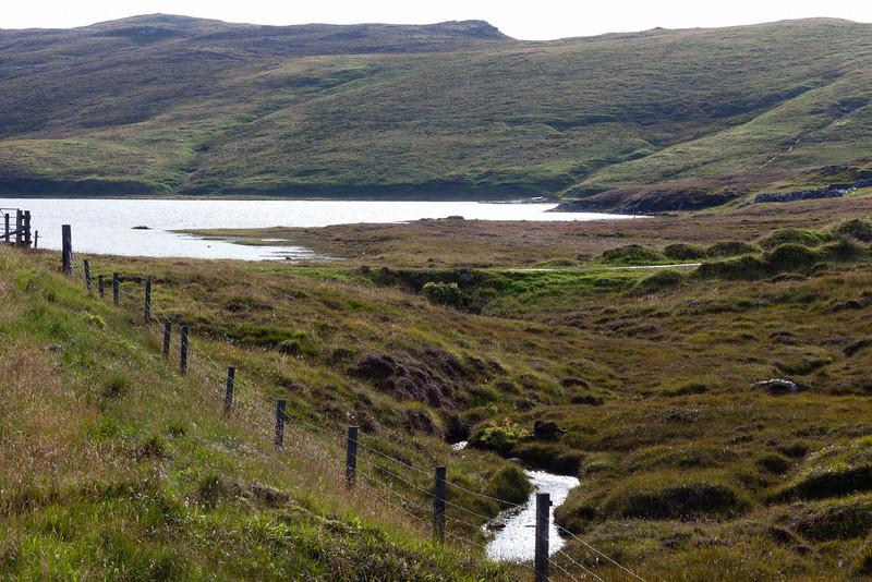 Loch near Haggrister