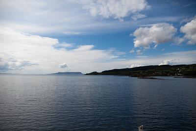 Eigg beyond Skye