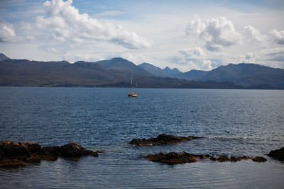 From Armadale, Skye