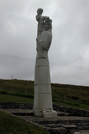 Our Lady of the Isles, Hill of Miracles, Rueval, South Uist 10 July 2011