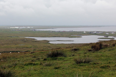 View from the Hill of Miracles, Rueval, South Uist 10 July 2011