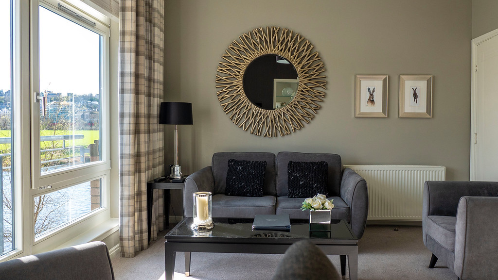 Stirling Luxury Apartments: Living Room - Stirling Accommodation