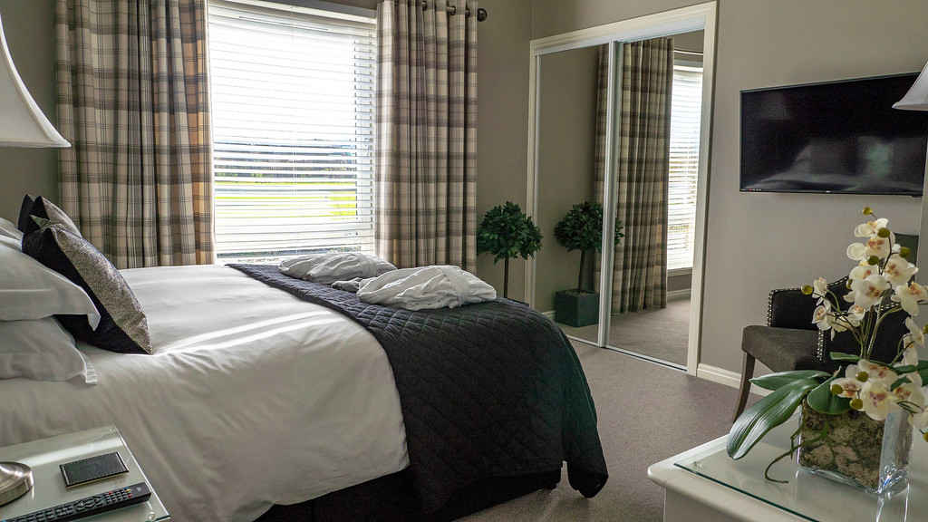 Stirling Luxury Apartments: the Master bedroom