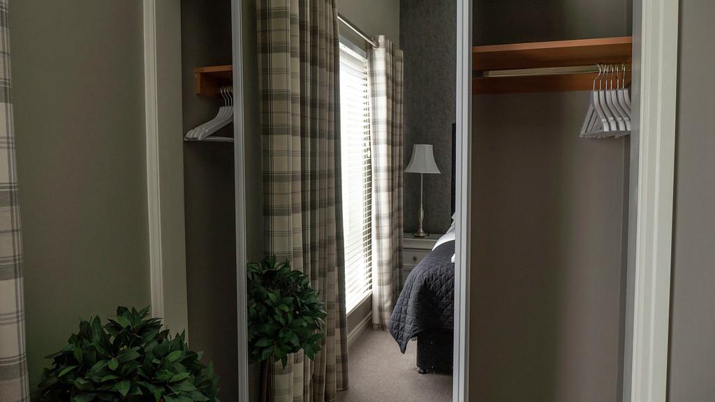 Stirling Luxury Apartments bedroom closet