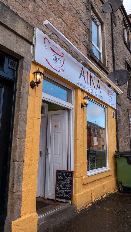 Cafe Aina in Stirling - Vegan options in Stirling Scotland