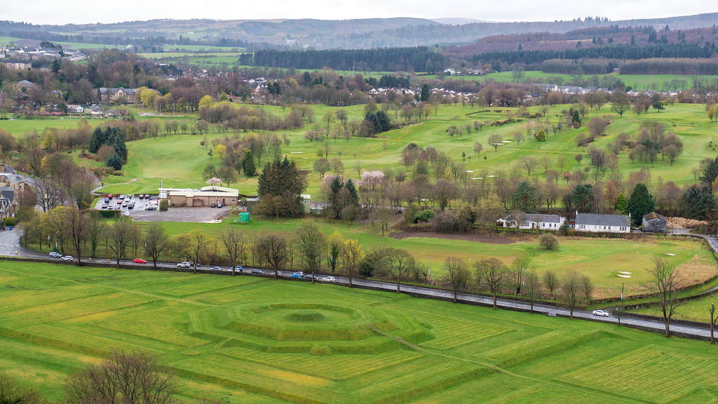 Walk to The King's Knot for Views of Stirling Castle - Things to do in Stirling Scotland