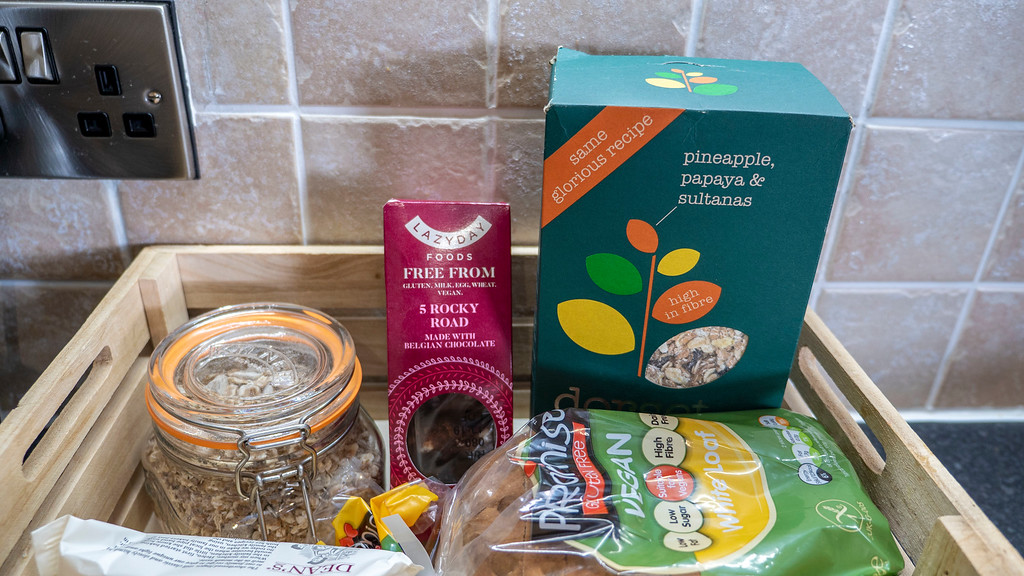 Stirling Accommodation Kitchen and Vegan Groceries