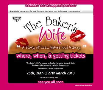 The Baker's Wife Website