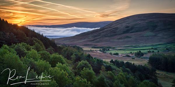 Scottish Borders -  Megget sunrise