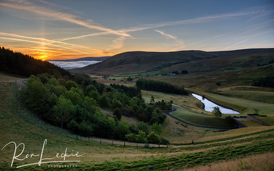 Scottish Borders -  Megget sunrise
