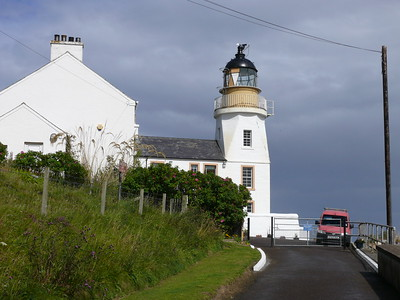 Holburn Head Lighthouse, Scrabster - August 15, 2011.