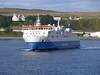 Northlink Ferries HAMNAVOE departs from Scrabster Harbour bound for Stromness - August 15, 2011