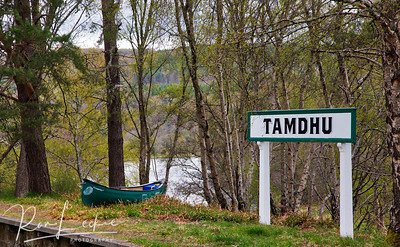Tamdhu - on the banks of the River Spey.