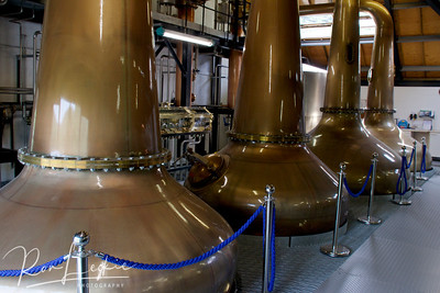Isle of Arran, Lochranza Distillery: The Pot Stills