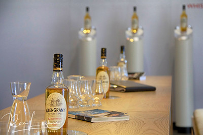Glen Grant: Their ultra-modern tasting room.