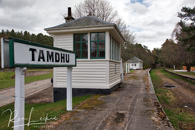 Tamdhu: Has its own (disused) railway station which they plan to use for tastings - currently only open for special events.