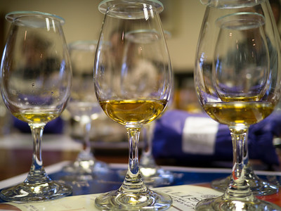 Comparing the colours of the Whiskeys