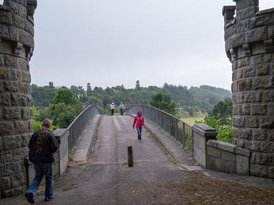 Craigellachie Bridge over the River Spey