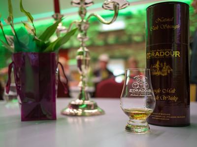 Whisky tasting at Edradour