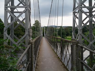 Victoria Footbridge at Averlour