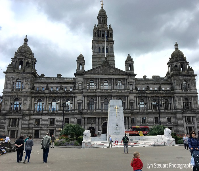 Glasgow City Chambers at St. George's Square