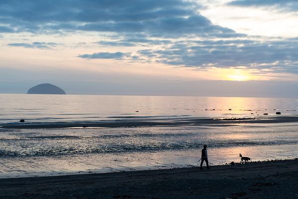 Girvan Sunset
