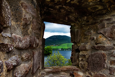 Past Present - Urquhart Castle, Scotland