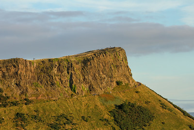 Arthur's Seat in Edinburgh, Scotland