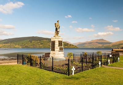 Scotland - Inverary War Memorial