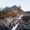 Buachaille Etive Mor Waterfall