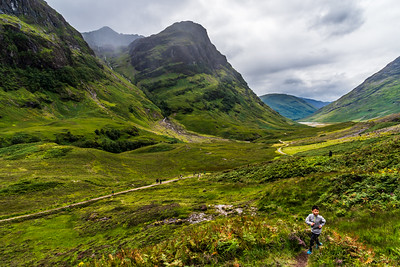 "The ""Three Sisters"" in Glen Coe, Scotland."
