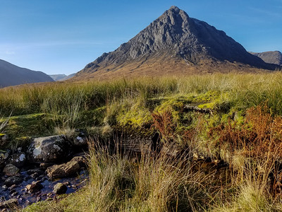 Scotland landscape in Glen Coe