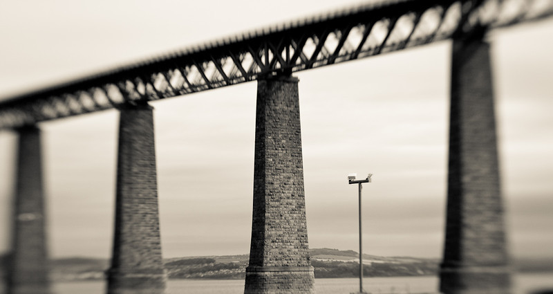 Another view of the majestic Forth Bridge.