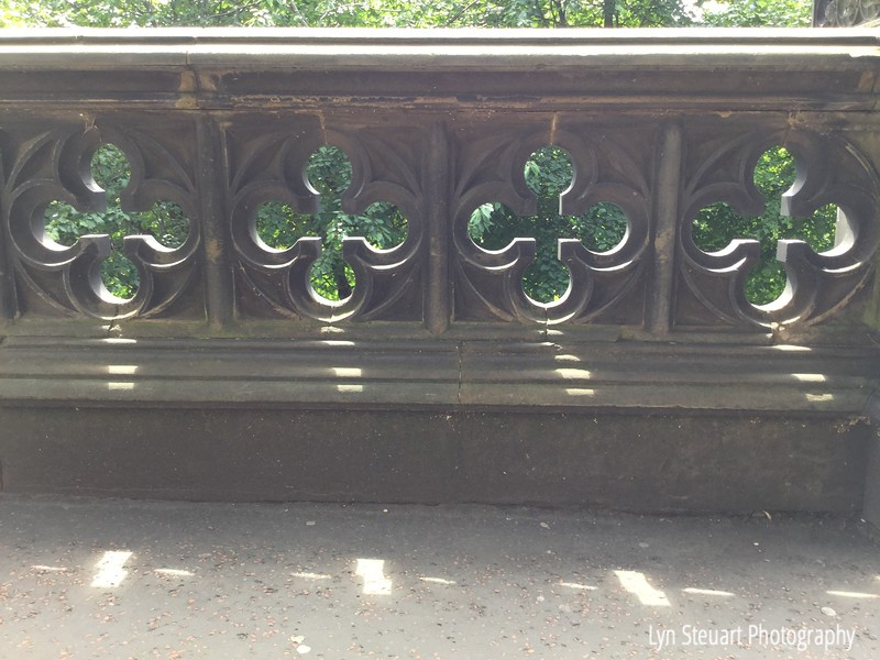 Railing along the Princes St Gardens