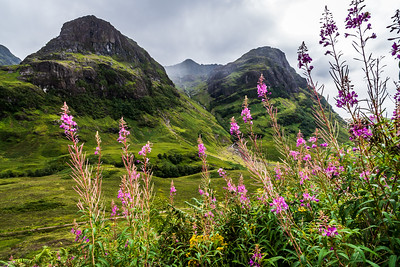 Glen Coe in Scotland.