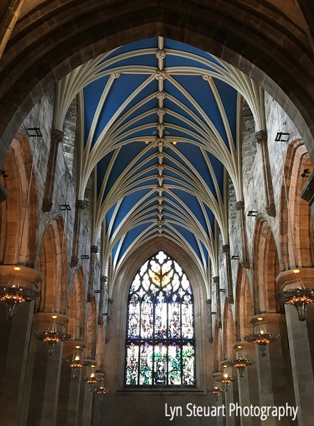 St Giles Cathedral nave.