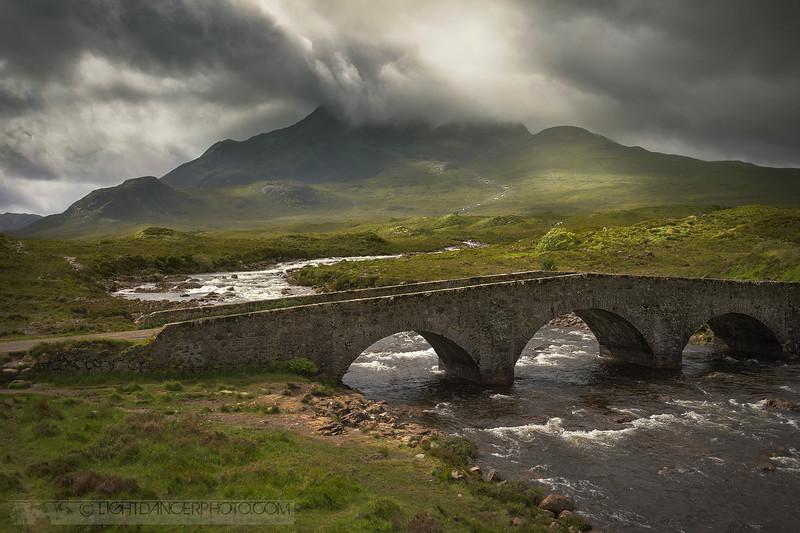 Old Sligachan Bridge, Isle of Skye, Scotland