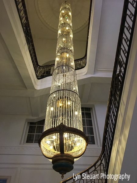 Chandelier at Blythswood Square