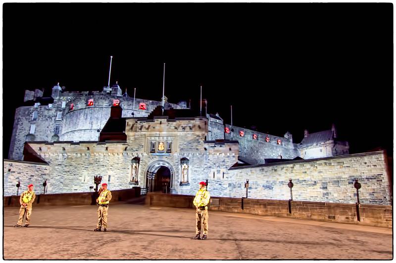Edinburgh's Famous Castle, Scotland