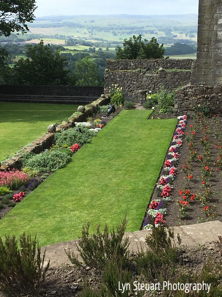 Queen's Garden at Stirling Castle