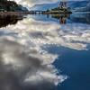 Eilean Donan Castle and Cloud Reflections