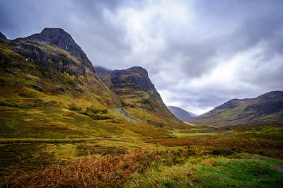Three Sisters of Glen Coe