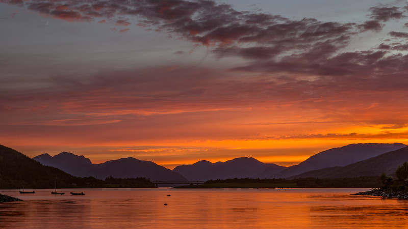 Loch Leven (after Sunset)