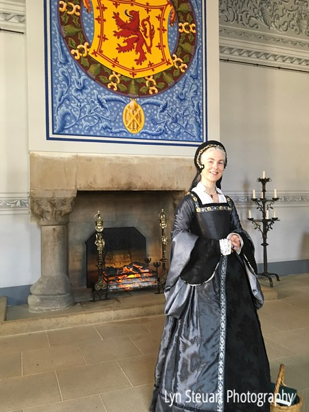 Stirling Castle - Tudor fashion