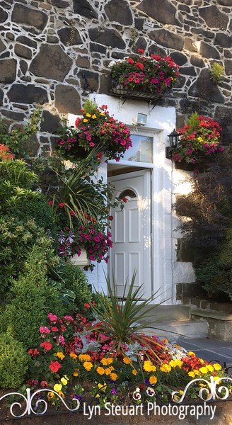 Entrance to a B & B in Stirling