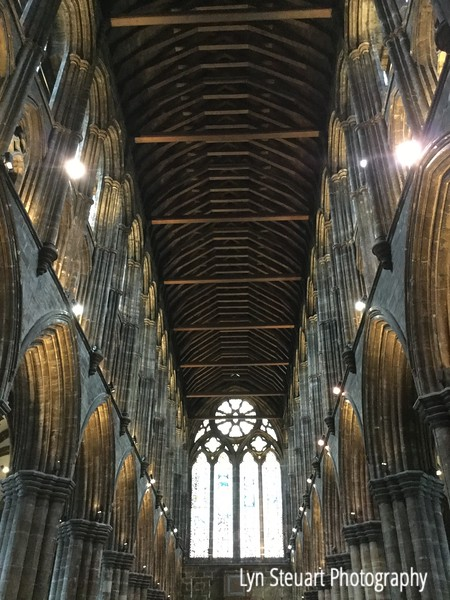 Such a magnificent structure!  Nave of Glasgow Cathedral